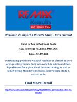 6653 Parkwood Rd, Edina, MN 55436 : Parkwood Knolls by RE/MAX Results Edina - Kris Lindahl