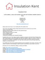 Insulation Kent
