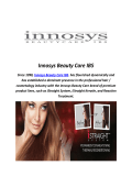 Innosys Beauty Care IBS : Moa Conditioner