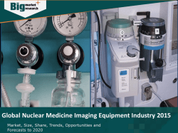 Global Nuclear Medicine Imaging Equipment Industry 2015 Market Research Report