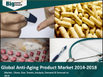 Global Anti-Aging Product Market 2014-2018