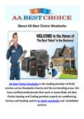 AA Best Choice Waukesha : AC Repair in Waukesha