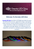 The Dark Dog Collars by Eternity LED Glow