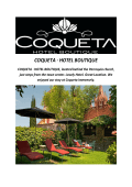 COQUETA Boutique Hotels In San Miguel De Allende