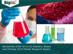 Benzamide (CAS 55-21-0) Industry, Global and Chinese 2015 Market Size and Growth Rate