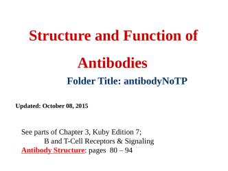 AntibodyNoTP - Laboratory Research Interests