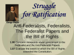 Struggle for ratification