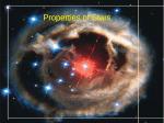 Stellar Properties