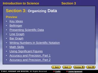 1.3 Presenting Scientific Data Powerpoint