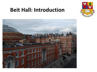 Beit Hall - halls.imperial.ac.uk