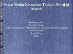 presentation - International Public Relations Association