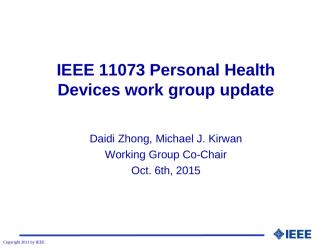 2015-10-06-IEEE11073-PHD-Update_r02