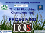 2015 results - Northern Ireland Ploughing Association