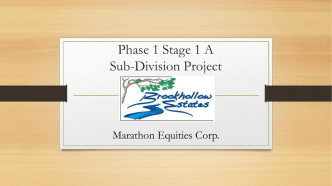 Brookhollow Power Point - Marathon Properties Corp