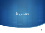 Equities - Undergraduate Investment Society at UCLA