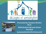 Villages of Kensington - Parkwood Residents Association