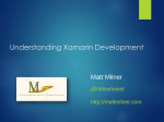Understanding Xamarin Development
