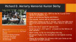 Richard D. Moriarty Memorial Hunter Derby