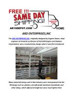 ARD ENTERPRISES,INC : AR15 Parts Kit