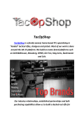 TacOpShop : M1A Sniper Rifle For Sale