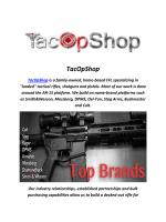 TacOpShop : M1A Sniper Rifle For Sale