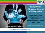Micro-Miniature Co-axial Adapter Market Volume Analysis, size, share and Key Trends 2015-2025 by Future Market Insights