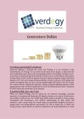 Generators Dallas