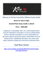 41w419 Plato Road, ELGIN, IL 60124 : Elgin Homes For Sale by The Kite Team-Keller Williams Premier Realty