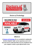 Doctors of Technology: Data Recovery Las Vegas