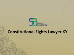 Constitutional Rights Lawyer KY