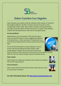 Sober Coaches Los Angeles