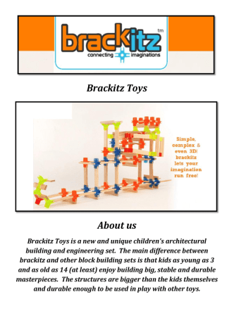 Brackitz Toys: Construction Toys for Girls