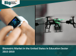 Biometric Market in the United States in Education Sector 2015-2019