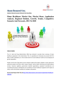 Home Healthcare Market Size, Market Share, Application Analysis, Regional Outlook, Growth, Trends, Competitive Scenario And Forecasts, 2012 To 2020