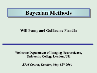 bayes - University College London