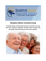 Hampton Manor Assisted Living The Villages Florida