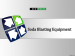 Soda Blasting Equipment