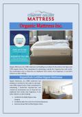 Organic Mattress Inc.