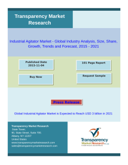 Industrial Agitator Market