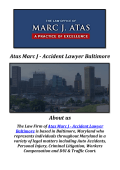 Atas Marc J - Car Accident Lawyer Baltimore (410-752-4878)