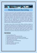 Market Research Recruiting