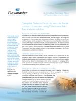 Flowmaster CaterpillarCaseStudy