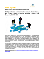Intelligent Virtual Assistant Market Analysis, Market Share, Key Trends, Vendor Strategies, Regional Outlook And Forecasts, 2015 To 2022