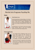 Martial Arts Programs Puyallup Wa