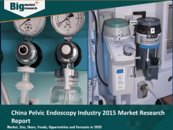 China Pelvic Endoscopy Industry 2015 Deep Market Research Report