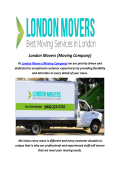London Moving Companies