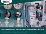 Global Refurbished Medical Equipment Market 2015-2019