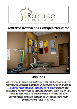 Raintree Chiropractic | Chiropractor, Massage Therapy in MO