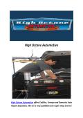 High Octane Auto Repair Shop Reseda