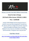 2015 North Clifton Avenue, CHICAGO, IL 60614 : Chicago Real Estate For Sale by The Kite Team-Keller Williams Premier Realty